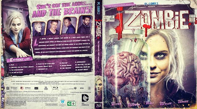 IZombie Season 1 Bluray Cover