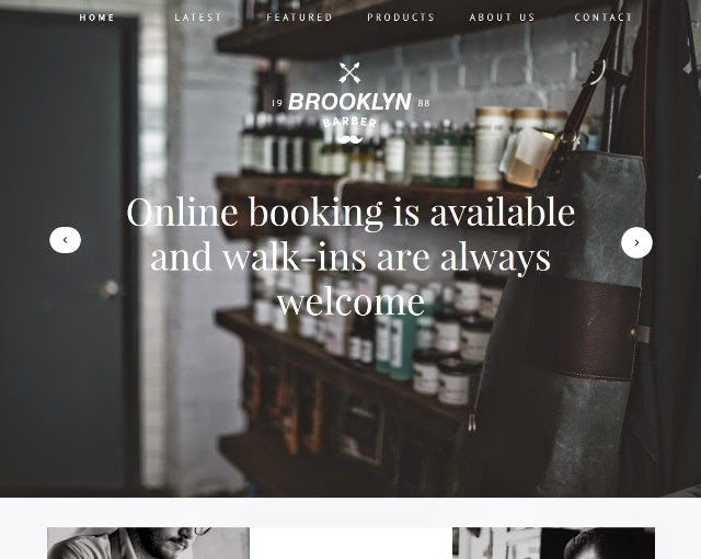 Brooklyn - Clean And Modern Onepager & Multipager design