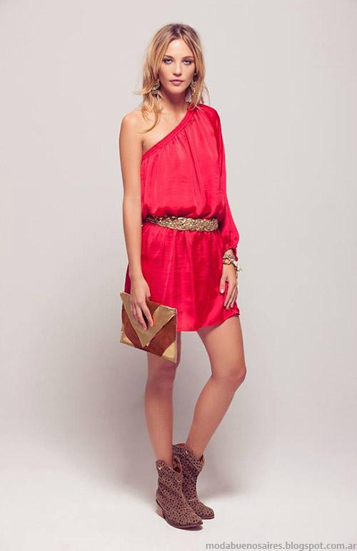 Silvina Ledesma looks de moda verano 2015 tendencias en Buenos Aires.