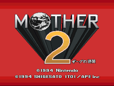 Mother 2 / Earthbound - Título RPG