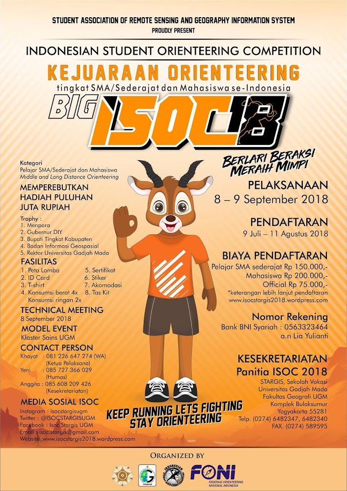 Indonesian Student Orienteering Competition / BIG ISOC • 2018
