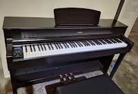 Pictures of Yamaha YDP184 digital piano