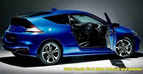 2016 Honda CR-Z Alpha Final Label Edition