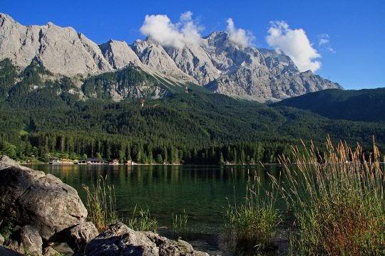 Eibsee dan Zugspitze, Bavaria