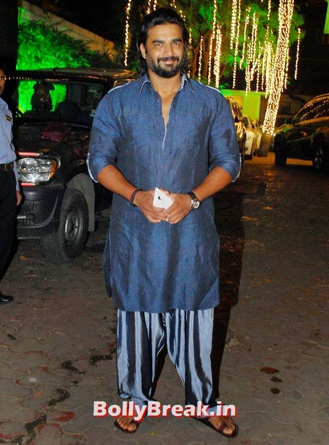 R Madhavan, Shilpa Shetty's Diwali Bash 2014 Photos