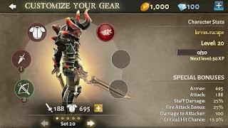 Dungeon Hunter 5 Mod Apk update