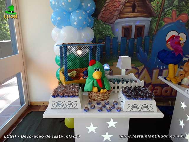Decoração de aniversário tema da Galinha Pintadinha - Festa temática infantil