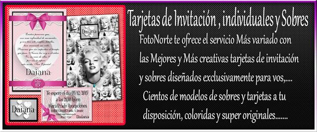 tarjetas de 15 invitación