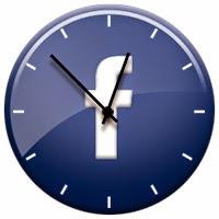 facebook clock