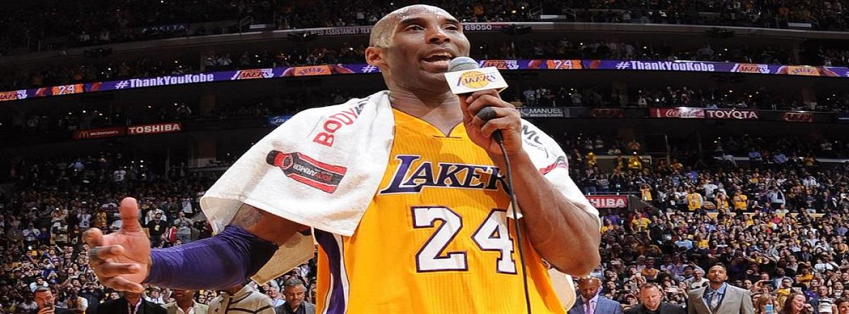 toalla de Kobe Bryant