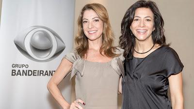 Projeto terá Ana Paula Padrão e Marina Person na apresentação de programas nos canais BandNews e Arte 1 - Crédito: Kelly Fuzaro/Band