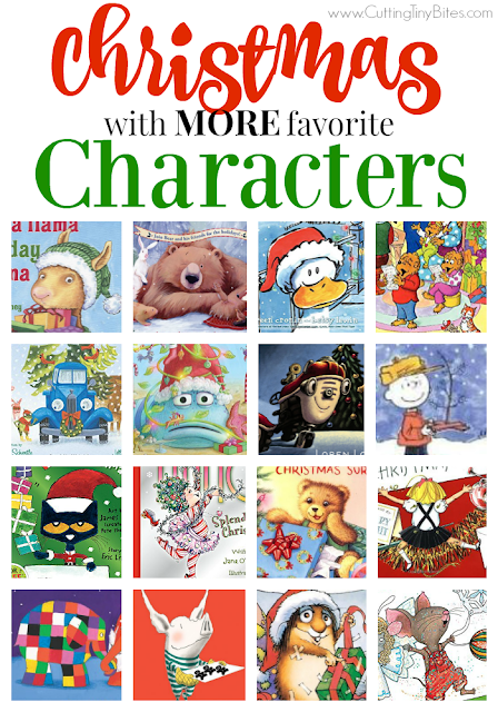 MORE great Christmas books for kids featuring favorite characters. Brief reviews of each book. Celebrate with Eloise, Strega Nona, Pinkalicious, Curious George, and more!