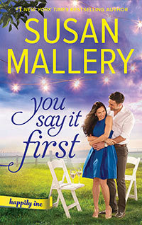 Bea's Book Nook, Review, You Say It First,  Susan Mallery, Romance