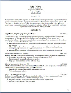 Operations Manager Resume Latest Design in Word Format Free
