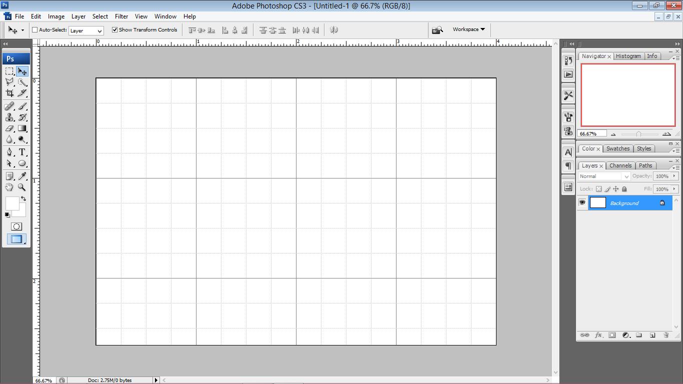 Cara Menghilangkan Grid Di Photoshop