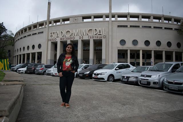 estadio pacaembu fachada