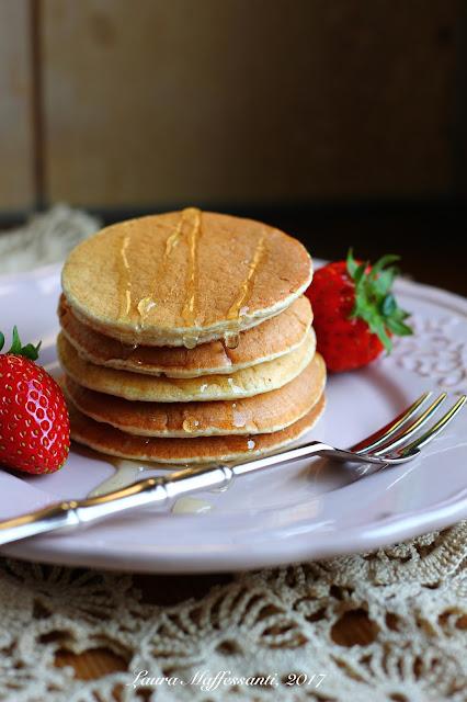 pancakes proteici ricetta