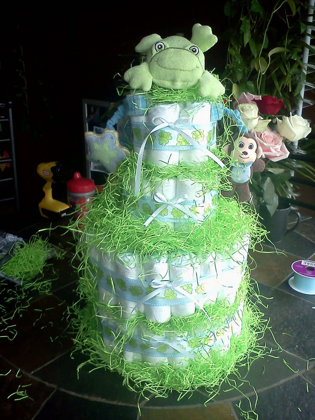 The Lemon Drop Diaper Cakes