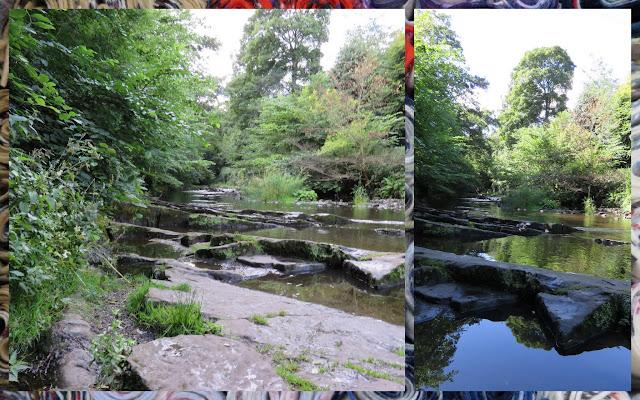 The Water of Leith in Edinburgh - Riverside