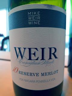 Mike Weir Reserve Merlot 2010 - VQA Niagara Peninsula, Ontario, Canada (89 pts)