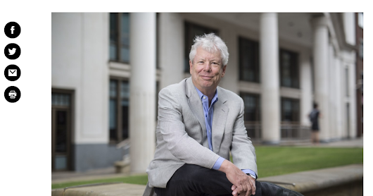 Two of my famous economics professors - Thaler and Navarro