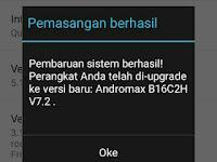 Update OTA Andromax E2 Versi V7.2