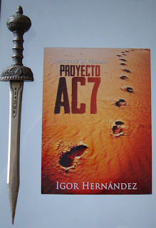 Portada del libro Proyecto AC7, de Igor Hernández Pérez