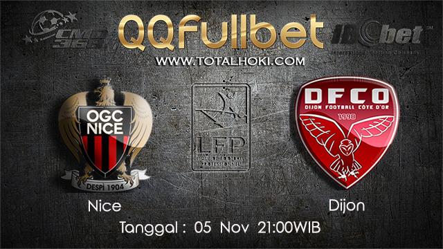 PREDIKSIBOLA - PREDIKSI TARUHAN BOLA NICE VS DIJON 5 NOVEMBER 2017 (Ligue 1)
