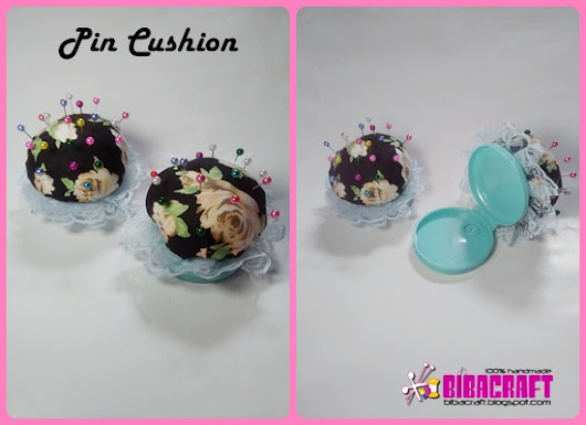 Recycled Craft: Pin Cushion