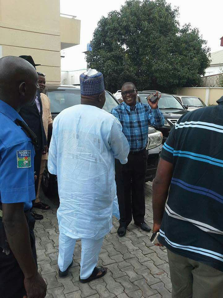 PDP crisis: Markafi pays surprise visit to Sheriff
