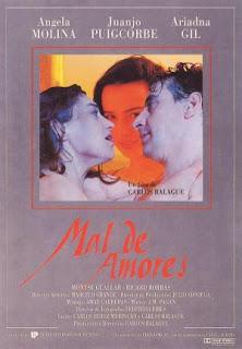 Mal de amores (1993) Drama romantico con Ángela Molina