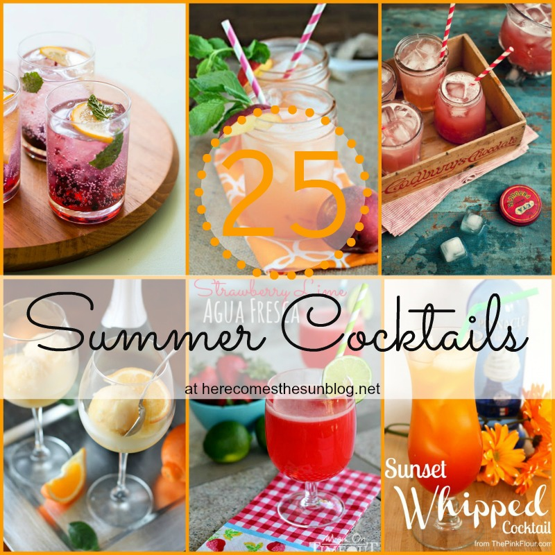 25 Refreshing Summer Cocktail Recipes