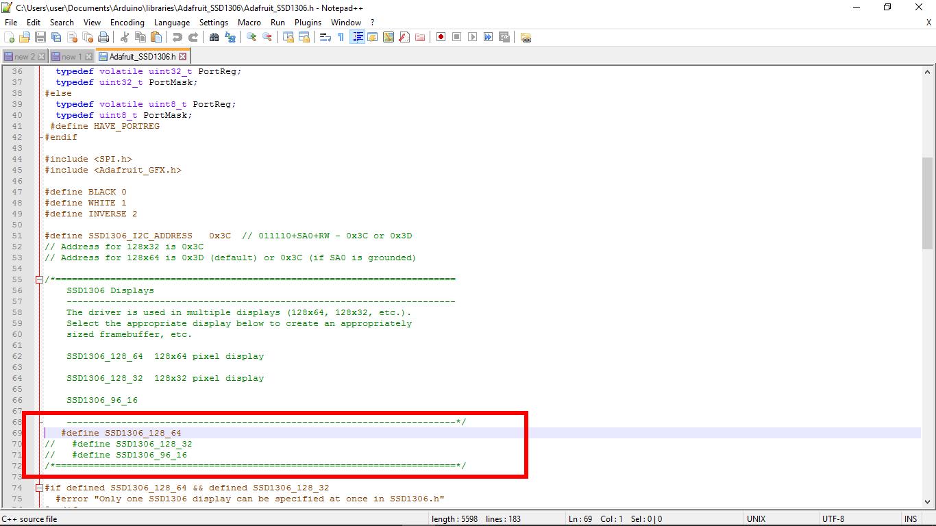 Arduino-er: NodeMCU (ESP8266) to display on 128x64 I2C OLED, using