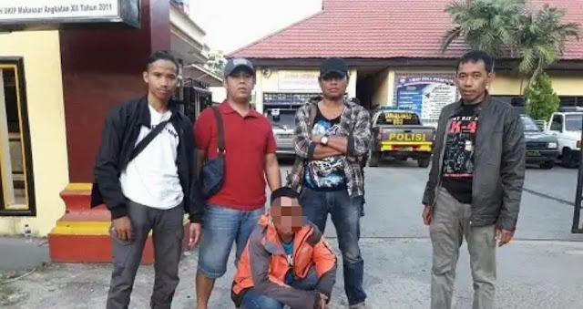 Melarikan Diri ke Toraja Habis Tikam Warga Sabbang, Pelaku Diringkus Polres Tana Toraja