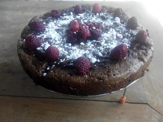 brownie-de-frambuesas, gluten-free, sin-gluten