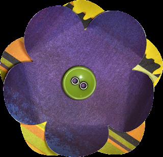 Papeles y Flores del Tierno Clipart de Animalitos Disfrazados para Halloween.