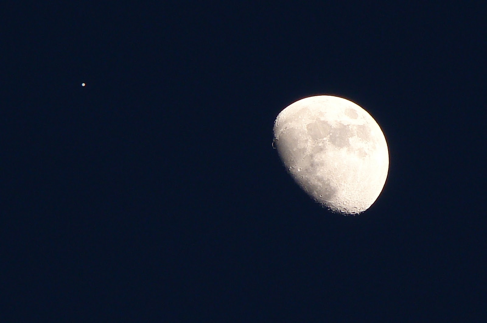 Geotripper: Moon and Jupiter in Conjunction: Last chance ...