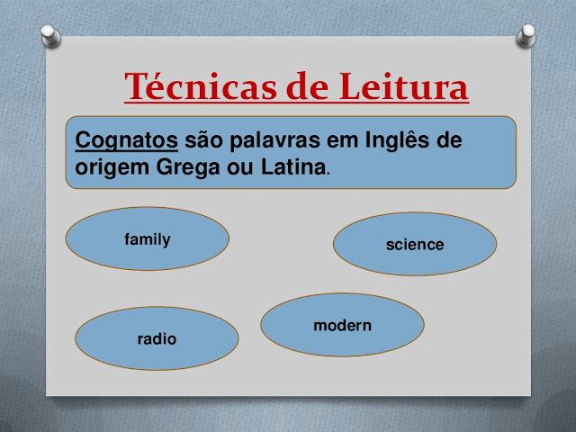 Técnicas de leitura em inglês