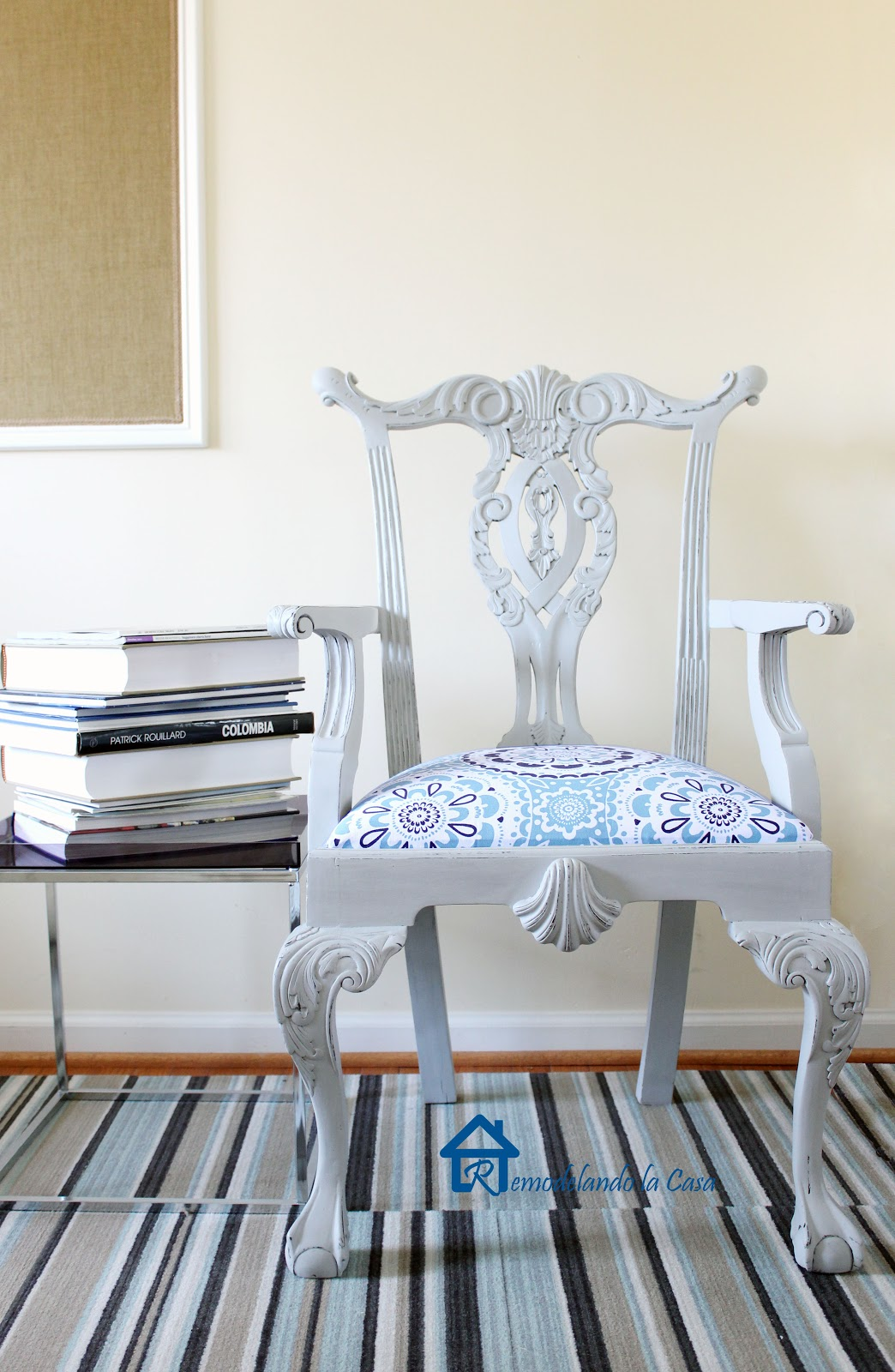 Exceptionnel My First Experience With Chalk Paint   Chippendale Chair   Remodelando La  Casa