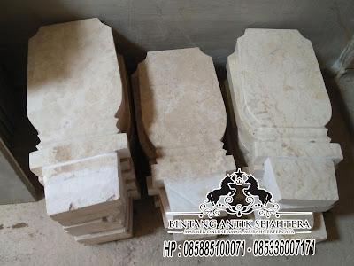 Patok Nisan Marmer, Batu Nisan Marmer, Model Batu Nisan Marmer