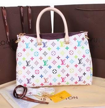 Luxury Replica Handbags Online Shop Louis Vuitton Blanc