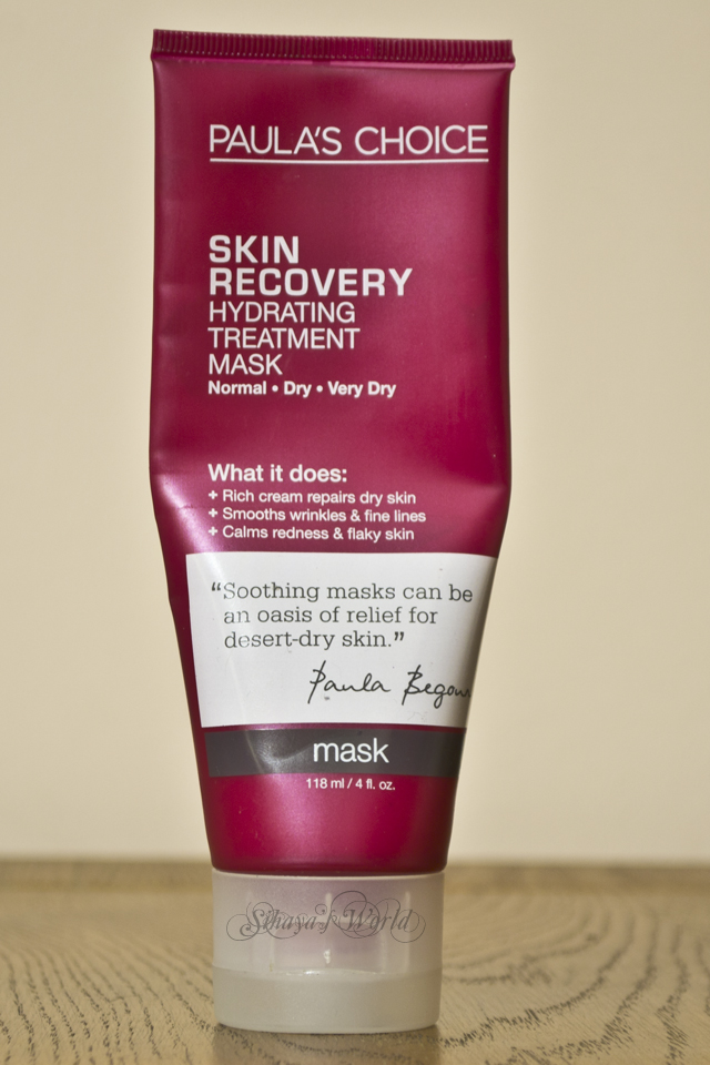 review paula's choice skin recovery mask
