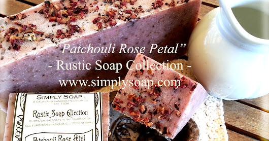 30% off sale on Patchouli Rose Petal Soap - TODAY ONLY!