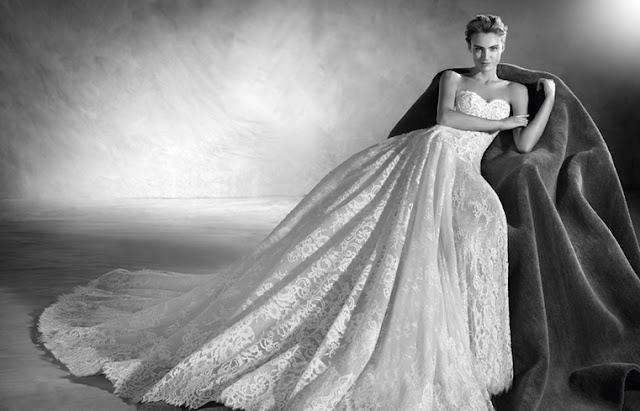 Vestido de novia de Pronovias para 2017