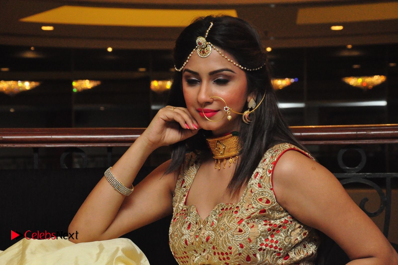 Actress Eshanya Pictures at Women Anthem Album Launch  0141.JPG