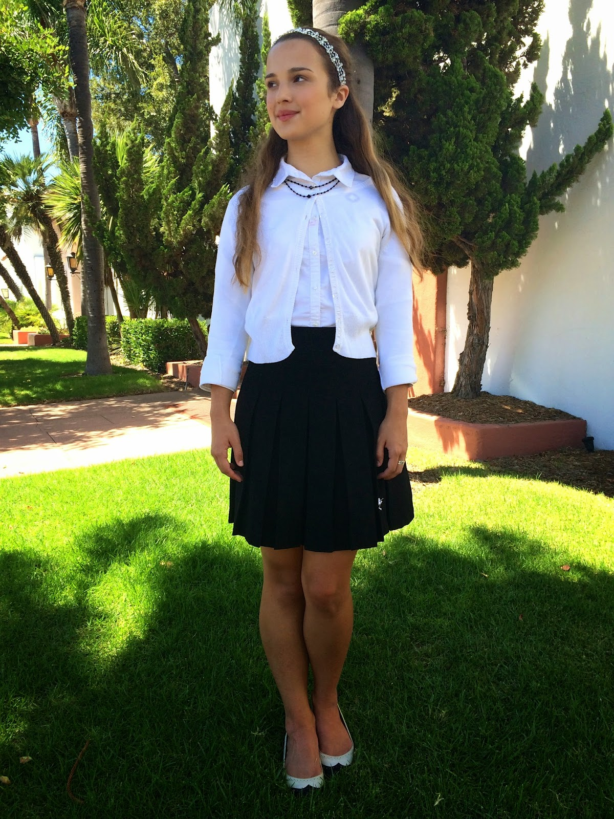 Red Ruby How To Style Your Uniform Inspired By Blair