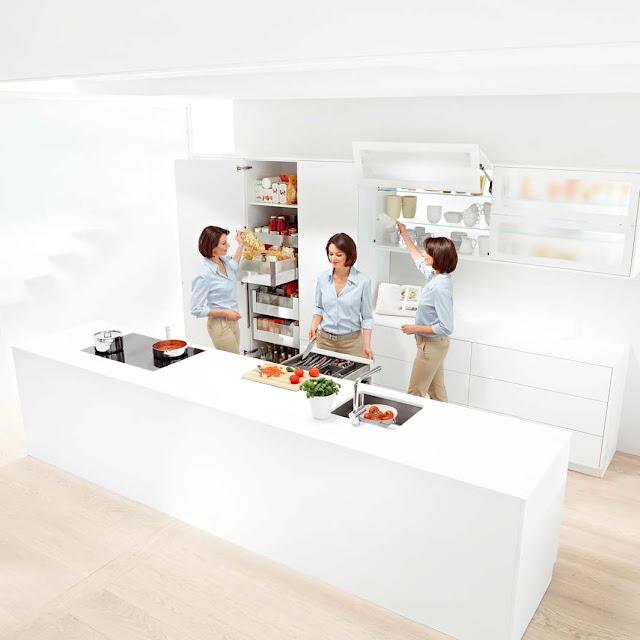 Комфортное движение  совершенной кухни