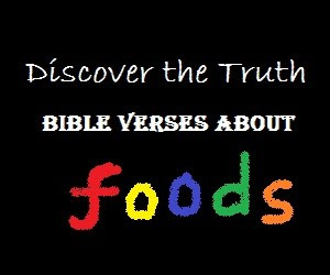 Bible Verses About Food