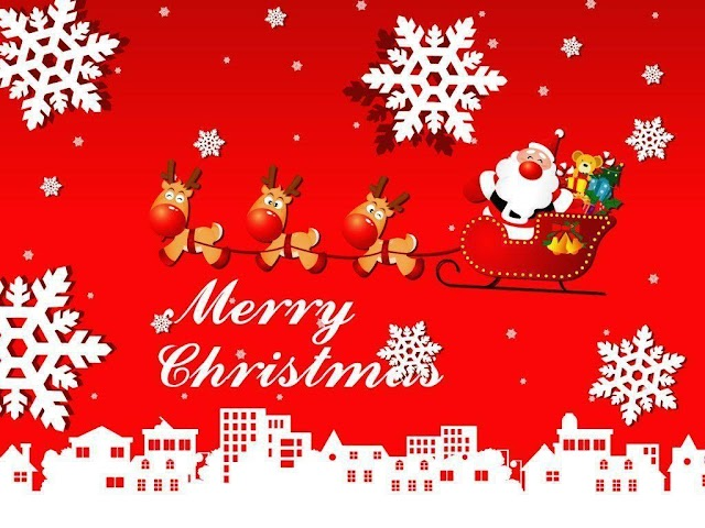 25 Creative Merry Christmas Images Free Download