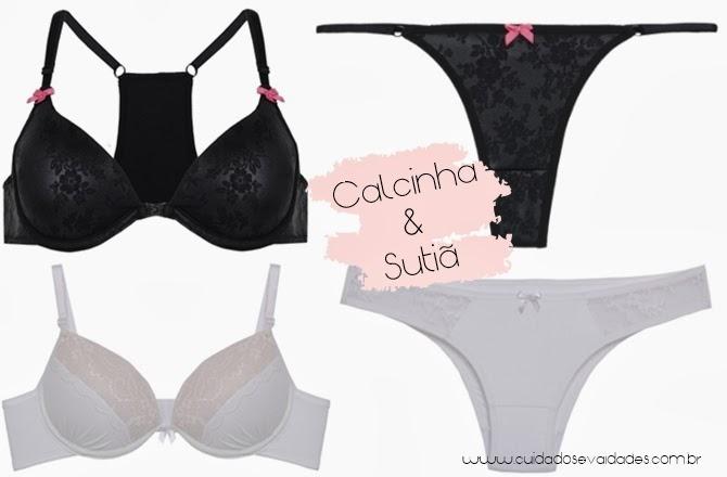 C&A lança coleção de lingerie para deixar as mulheres cheias de charme e sensualidade
